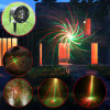 Colore rosso/laser laser Stage Light Christmas Lighting di Green con Mount