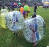 Bola inflable del balompié del fútbol de la burbuja del PVC, bola de Zorb, bola humana inflable del hámster, bola de parachoques