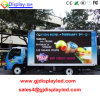 Muestra al aire libre del carro móvil impermeable LED del alto brillo P10