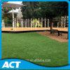Erba artificiale del giardino del tappeto erboso di paesaggio per il raggruppamento, giardino, banco, aeroporto