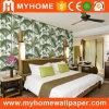 Beau papier peint décoratif de la chambre à coucher 3D