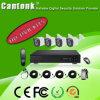 kit di sorveglianza del CCTV della macchina fotografica del kit 720p 1MP Ahd di 4CH HVR