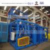Máquina del chorreo de arena de la fabricación de la estructura de acero