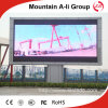 Écran de publicité visuel polychrome extérieur de signe d'affichage à LED de P8