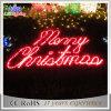 Grado comercial que enciende para arriba la luz de la bandera de la carta de la Feliz Navidad del LED