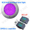 Fatto all'indicatore luminoso subacqueo della Cina 18W IP68 LED DMX 512 RGB, indicatore luminoso subacqueo di RGB 12V LED di controllo di DMX