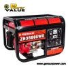 WS Single Phase Output Type Gasoline Generator Set 3kw, Portable Generator mit Wheels und Handle
