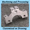 Подвергая механической обработке часть Prototy с материалом металла