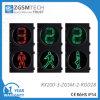 semaforo ambulante verde rosso dell'uomo di 200mm con il temporizzatore di conto alla rovescia