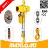 Portátil polipasto eléctrico de cadena de elevación 1000kg 220V Mini Electric