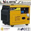 Air-Cooled молчком тип тепловозный генератор Dg5500se