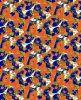 Lycra Fabric avec Fish et Seaweed Print
