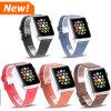 Venda de reloj flexible, correa de reloj ocasional del cuero genuino para el reloj de Apple