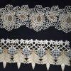 L'or a attaché la garniture de lacet utilisée sur Madame Clothes