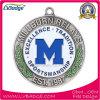 新しいデザイン金の銀の真鍮のカスタムスポーツメダル