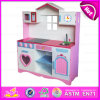 Кухня House Pink Smart Wooden Kitchen для Kids, Children Pretend Play Happy Wooden Play Kitchen W10c163