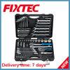 Комплект ключа инструментального ящика ремонта автомобиля Fixtec 76PCS CRV многофункциональный