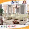 Legno abbastanza solido del lusso che intaglia sofà di cuoio (UL-B16029)