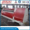 Máquina de rolamento de dobra inoxidável hidráulica universal da placa W12S-25X3200 de aço
