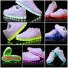 Светящий USB поручая светлые ботинки СИД с высоким качеством