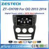 2 DIN Auto Radio voor 2014 Car DVD van QQ 2013 GPS Player