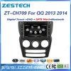 Радиоий 2 DIN автоматическое на QQ 2013 2014 игроков автомобиля DVD GPS
