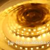 온난한 백색 배밀도 600LEDs/5m 유연한 LED 지구 빛 3528 유형 SMD 배선 필수 DC 잭에 의하여 입력되는 다만 플러그 앤 플레이