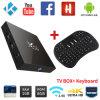 X96ロードされる無線キーボード完全の人間の特徴をもつTVボックス