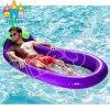 Aufblasbarer sich hin- und herbewegender Circel Brotpopsicle-Eiscreme-Aubergine-Pool-Gleitbetrieb