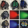 高いPower 54*3W LED PAR 64 Stage Disco Lighting