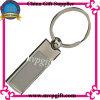 Apalabrado en blanco llavero de la llave del metal regalo anillo (M-MK54)