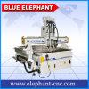 Router di legno di CNC dell'asse di rotazione del sistema pneumatico tre di Ele 1325, router di CNC di falegnameria per la fabbricazione del portello