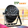 Impermeable 18PCS 10W RGBW LED PAR zoom Luz