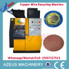 Saleのための100kg/H Copper Wire Granulating Machine