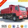대형 트럭 Sinotruck HOWO 371HP 쓰레기꾼 트럭 팁 주는 사람 트럭