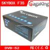 Receptor satélite da caixa F3s de Digitas DVB-S