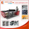 machine de découpage de laser de précision de pipe en métal 500With1000W