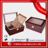 최신 판매 스페인 삼목 나무로 되는 여송연 담배 저장 상자 내각