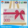 Concevoir la carte vierge en plastique imprimable d'identification de cadeau de PVC