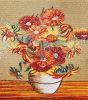 유리제 모자이크 심상 (CFD203)로 Monet Made의 해바라기