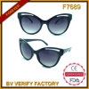 F7689 China Cheap Price Promotional Cat Eye Sunglasses mit UV400