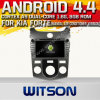 Carro DVD do Android 4.4 de Witson para o forte de KIA com A9 sustentação do Internet DVR da ROM WiFi 3G do chipset 1080P 8g