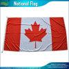 Национальный закрученный флаг Канады листьев красного цвета полиэфира с зажимами (J-NF05F03005)