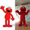 Traje vermelho personalizado da mascote do caráter do monstro de Elmo (FLMC-31)