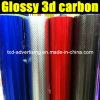 Лоснистое 3D Carbon Fiber Vinyl