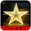 クリスマスのショッピングモールの装飾的な星ライト