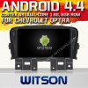 Witson Android 4.4 Car DVD para Chevrolet Cruze 2008-2011 com A9 o Internet DVR Support da ROM WiFi 3G do chipset 1080P 8g