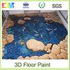 Pintura del suelo de la resina de epoxy del líquido 3D de la prueba del molde del nuevo producto