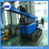 중국 제조자 6.5m 깊이 크롤러 유형 진동하는 망치 압력 말뚝박는 해머