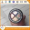 Faisceau de cuivre 16mm2 du câble d'alimentation 0.6/1kv 4 de la SWA